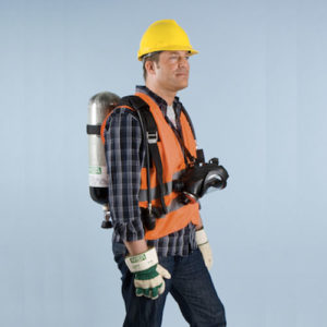 AirXpress is a streamlined self breathing apparatus