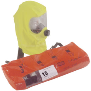 S-Cap-Air escape respirator
